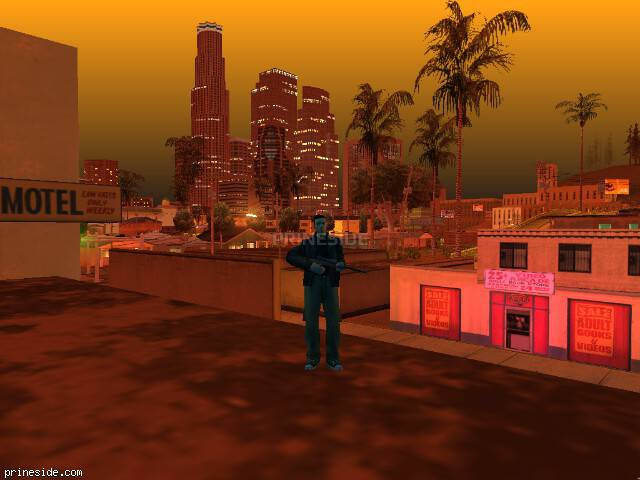 GTA San Andreas weather ID -22 at 23 hours