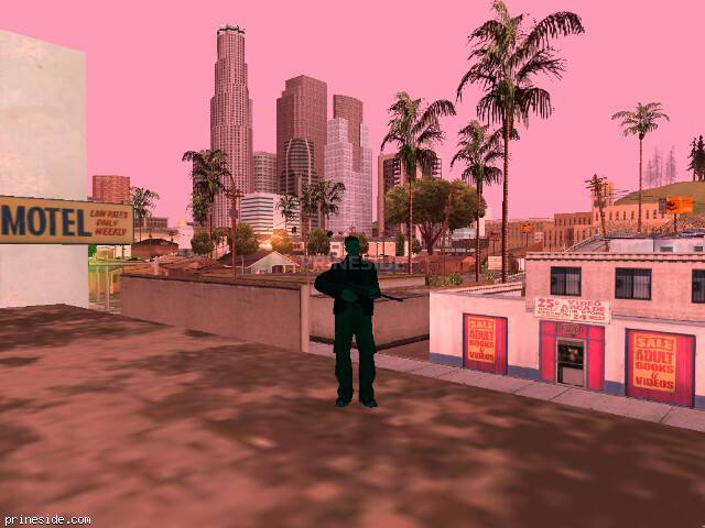 GTA San Andreas weather ID 234 at 7 hours