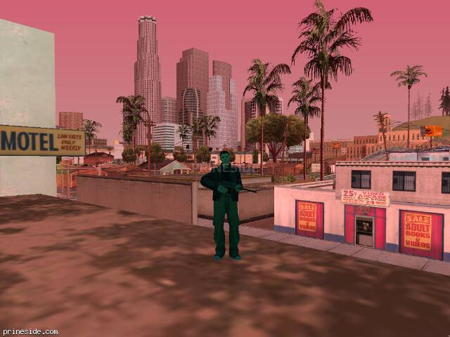 GTA San Andreas weather ID 235 at 14 hours