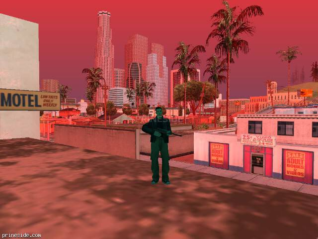 GTA San Andreas weather ID 235 at 17 hours