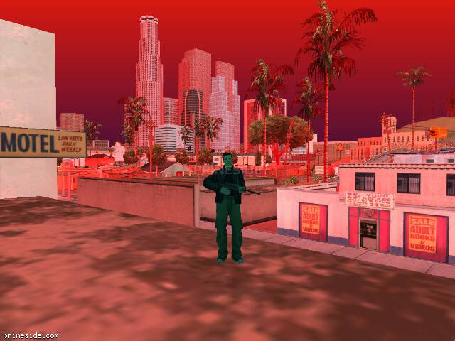 GTA San Andreas weather ID 235 at 19 hours
