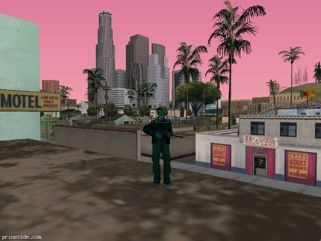 GTA San Andreas weather ID -276 at 10 hours
