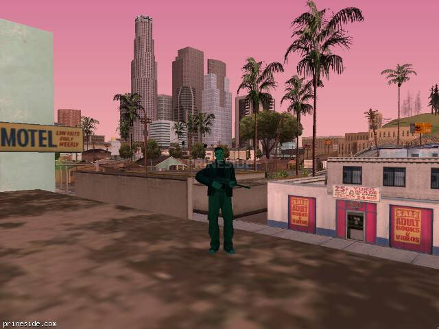 GTA San Andreas weather ID 492 at 11 hours