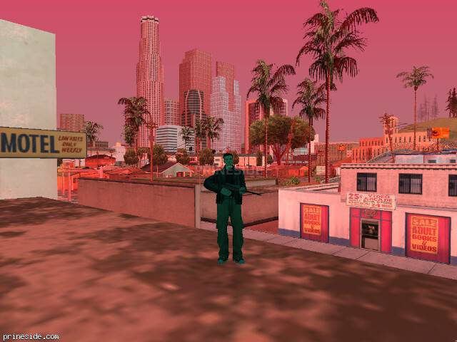 GTA San Andreas weather ID 492 at 15 hours