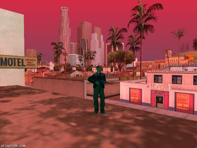 GTA San Andreas weather ID 492 at 17 hours