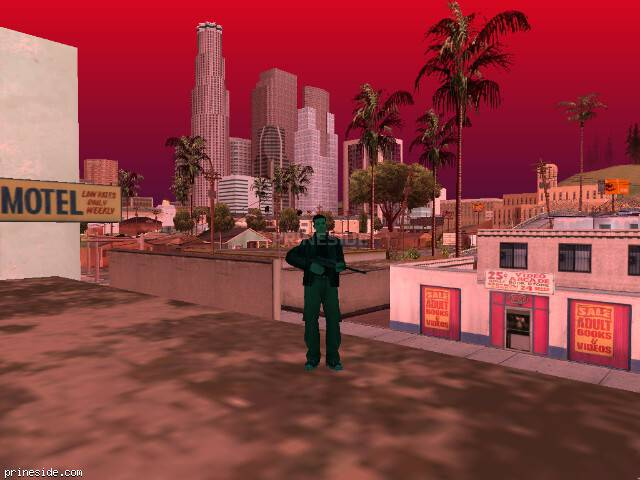 GTA San Andreas weather ID -20 at 19 hours