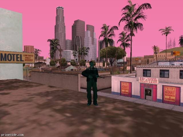 GTA San Andreas weather ID 748 at 8 hours