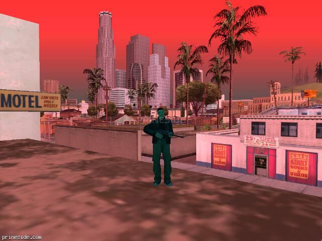 Просмотр погоды GTA San Andreas с ID 750 в 13 часов