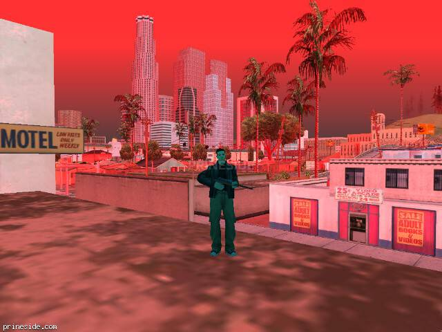 GTA San Andreas weather ID 1262 at 19 hours