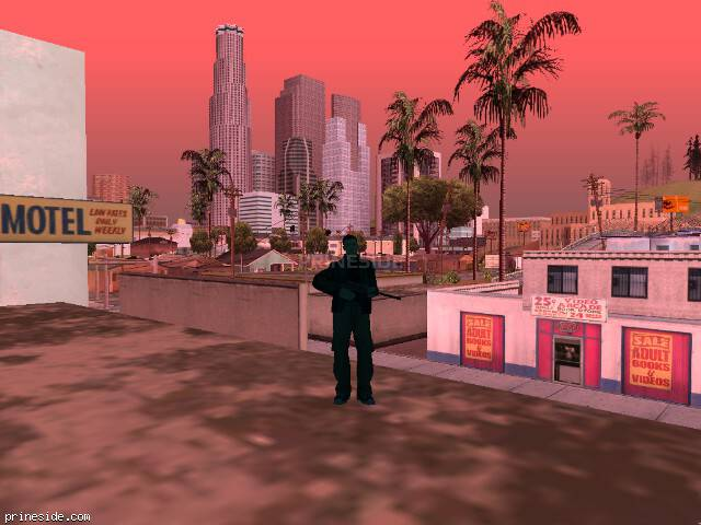 Просмотр погоды GTA San Andreas с ID 1262 в 7 часов