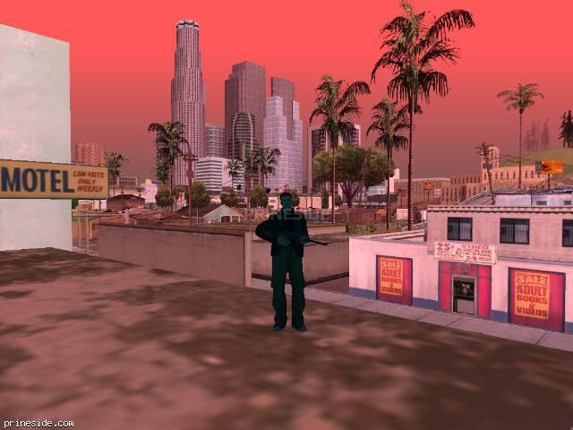 Просмотр погоды GTA San Andreas с ID 494 в 8 часов