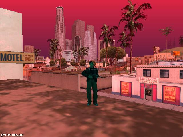 GTA San Andreas weather ID 239 at 14 hours