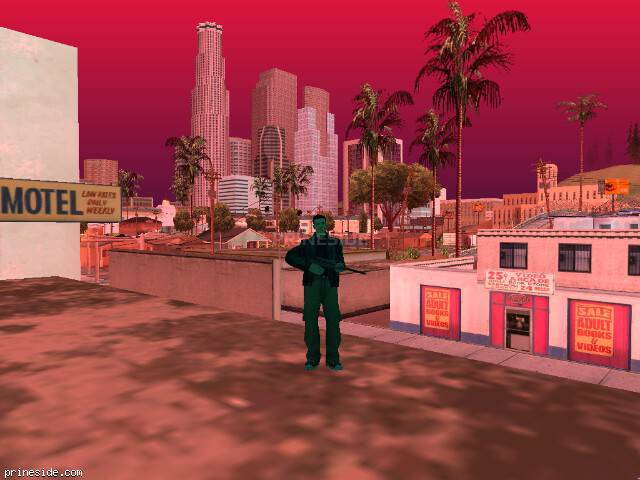 GTA San Andreas weather ID 239 at 16 hours