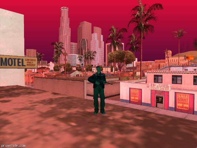 GTA San Andreas weather ID 239 at 17 hours