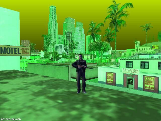 Просмотр погоды GTA San Andreas с ID 239 в 20 часов