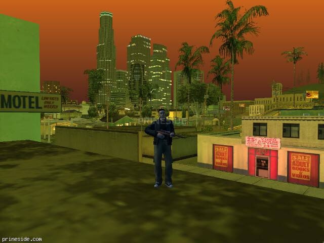 GTA San Andreas weather ID 239 at 23 hours