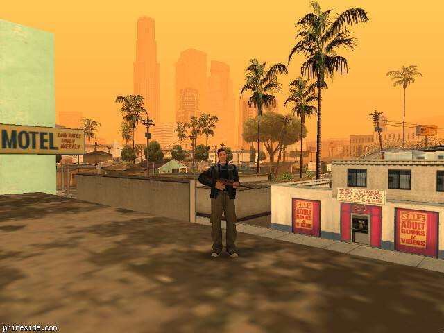 GTA San Andreas weather ID 24 at 20 hours