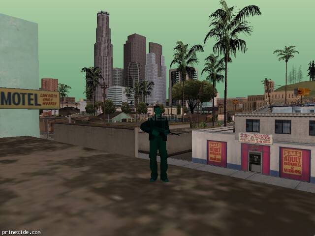 GTA San Andreas weather ID 496 at 12 hours