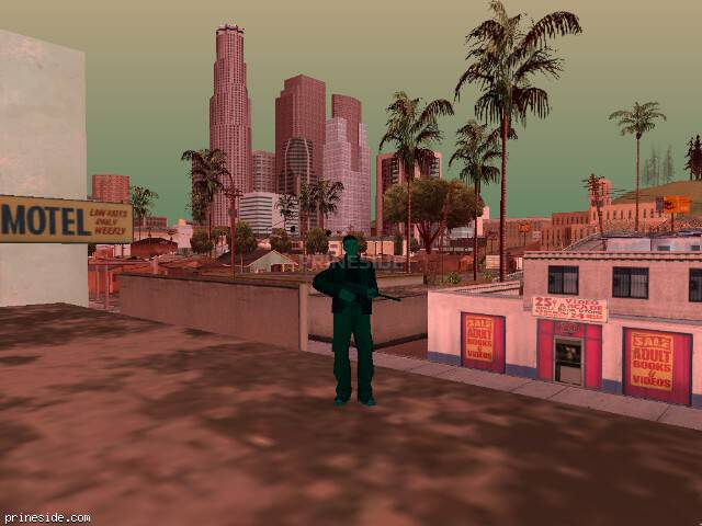 GTA San Andreas weather ID 240 at 14 hours