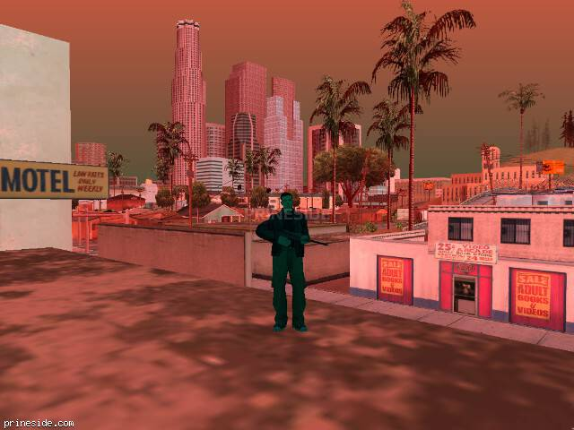 GTA San Andreas weather ID -16 at 17 hours