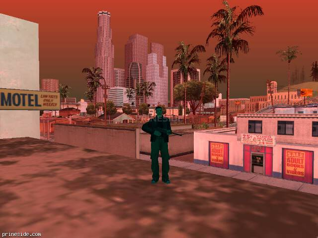 GTA San Andreas weather ID 240 at 18 hours