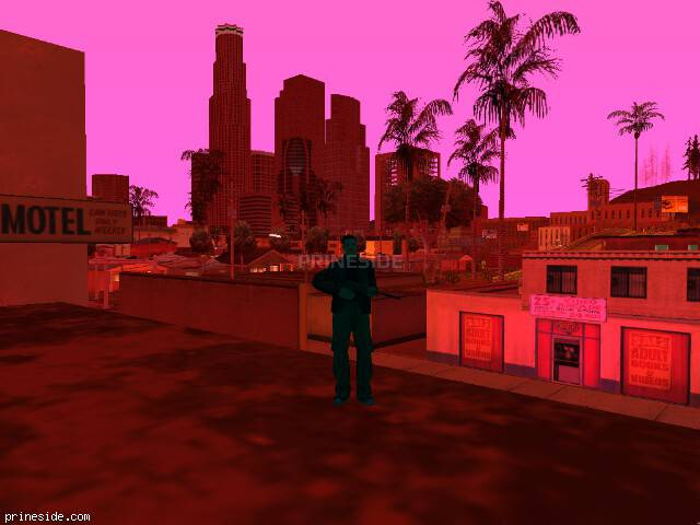 GTA San Andreas weather ID 240 at 6 hours