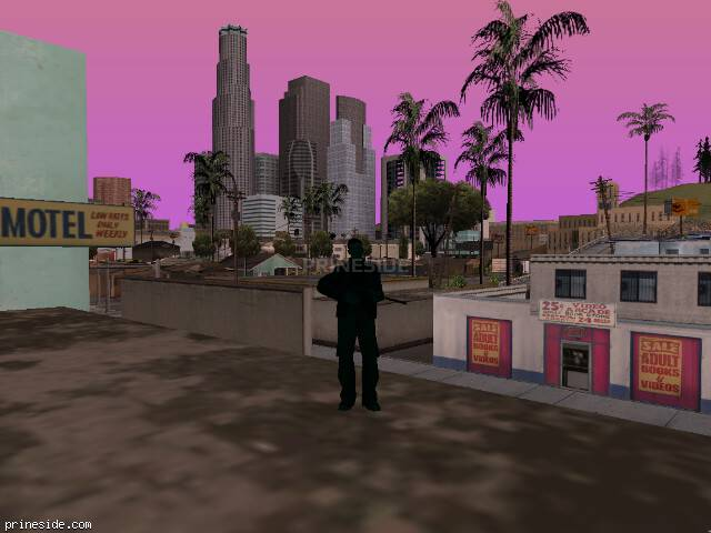 GTA San Andreas weather ID 496 at 7 hours