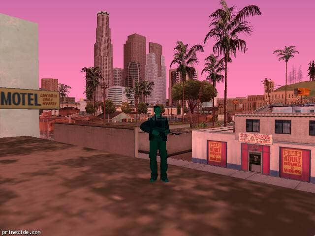 GTA San Andreas weather ID 241 at 10 hours