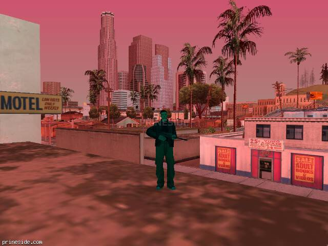 GTA San Andreas weather ID 241 at 14 hours