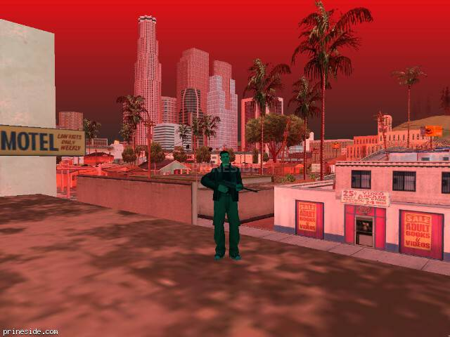 GTA San Andreas weather ID 241 at 18 hours