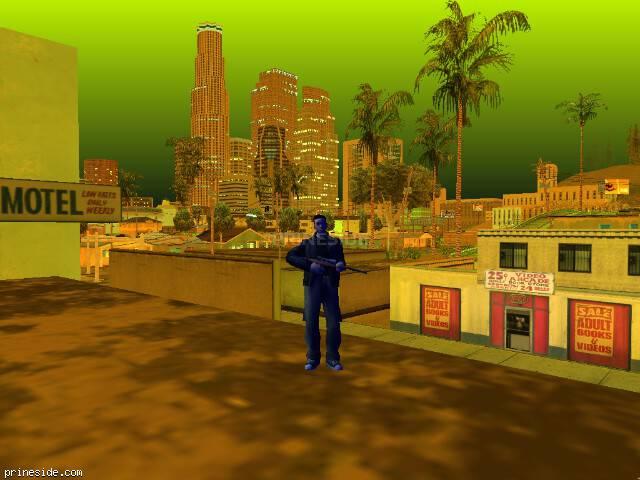 Просмотр погоды GTA San Andreas с ID -527 в 22 часов