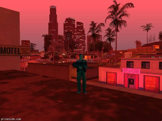 Просмотр погоды GTA San Andreas с ID 241 в 23 часов