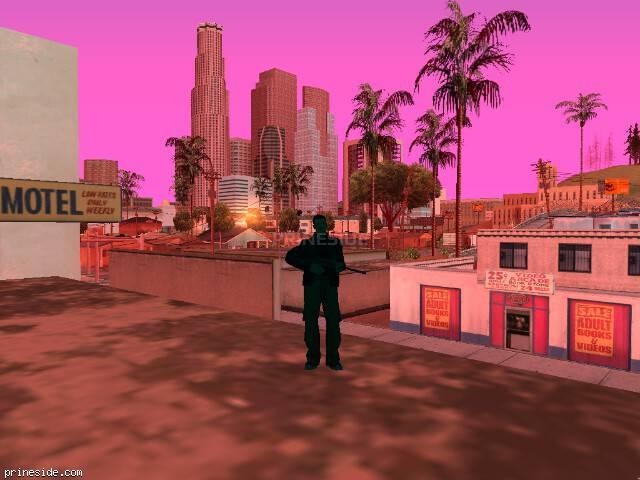 Просмотр погоды GTA San Andreas с ID -527 в 7 часов