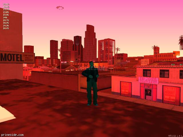 GTA San Andreas weather ID 244 at 0 hours