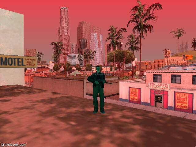 GTA San Andreas weather ID 244 at 16 hours