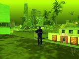 GTA San Andreas weather ID 244 at 22 hours