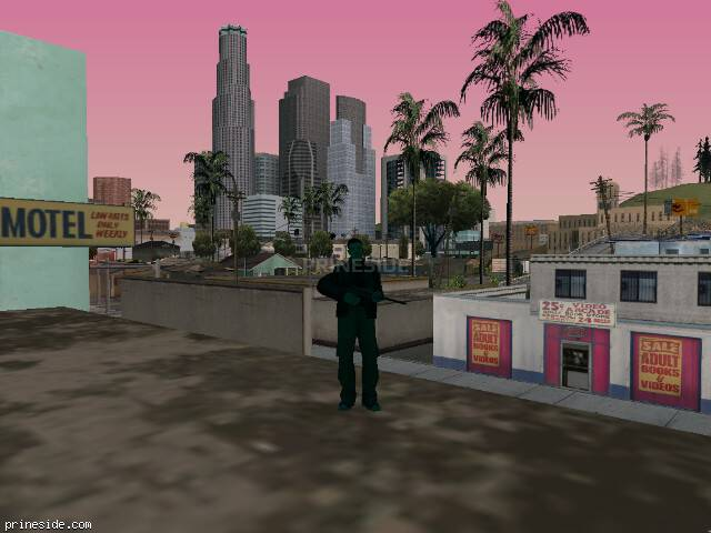 GTA San Andreas weather ID 244 at 8 hours