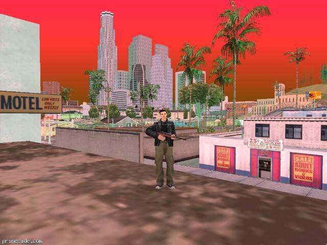 Просмотр погоды GTA San Andreas с ID 246 в 12 часов
