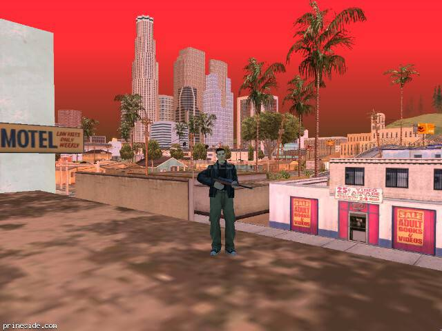 GTA San Andreas weather ID 246 at 16 hours
