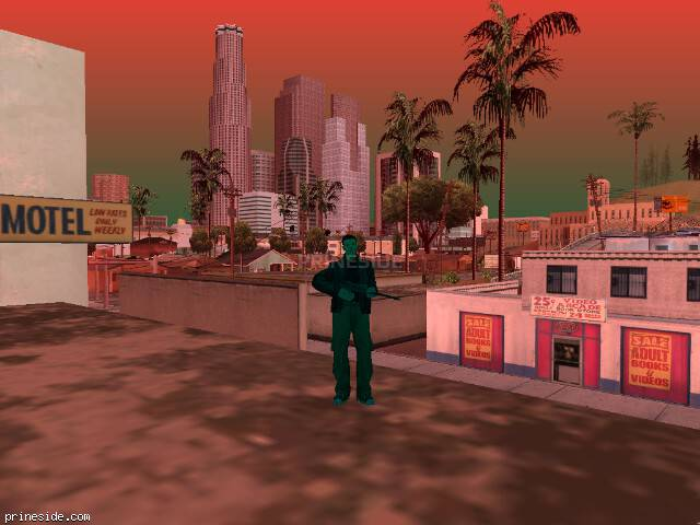 GTA San Andreas weather ID -9 at 14 hours