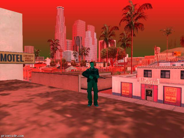 GTA San Andreas weather ID -265 at 17 hours