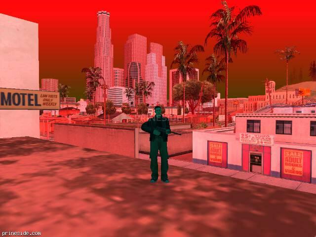 Просмотр погоды GTA San Andreas с ID 247 в 19 часов