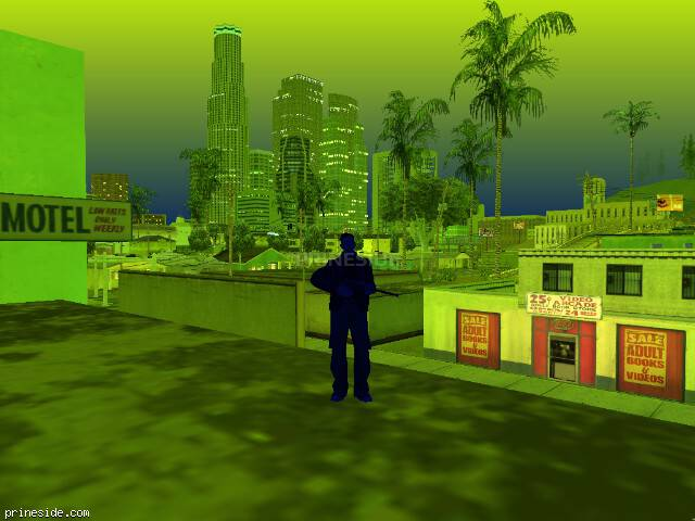 GTA San Andreas weather ID -9 at 22 hours
