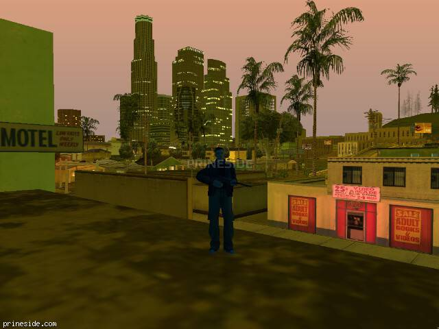 GTA San Andreas weather ID -9 at 23 hours