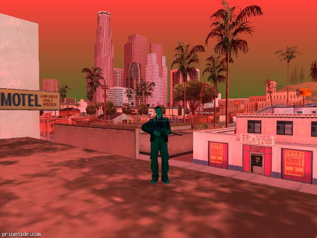 GTA San Andreas weather ID 248 at 17 hours