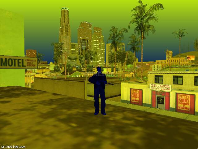 GTA San Andreas weather ID 248 at 22 hours