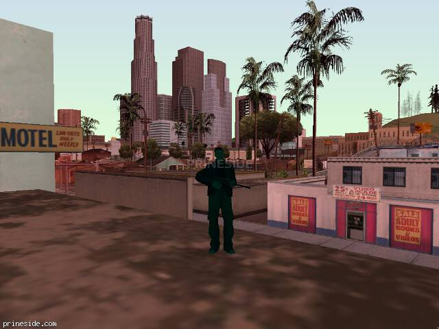GTA San Andreas weather ID 248 at 8 hours