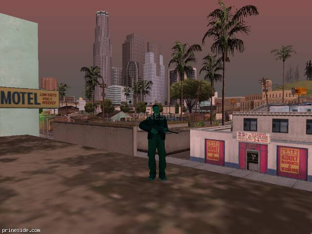GTA San Andreas weather ID 249 at 14 hours