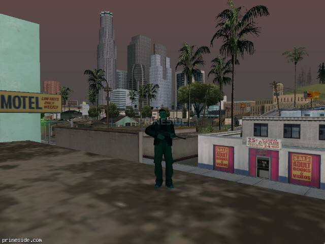 GTA San Andreas weather ID 249 at 16 hours