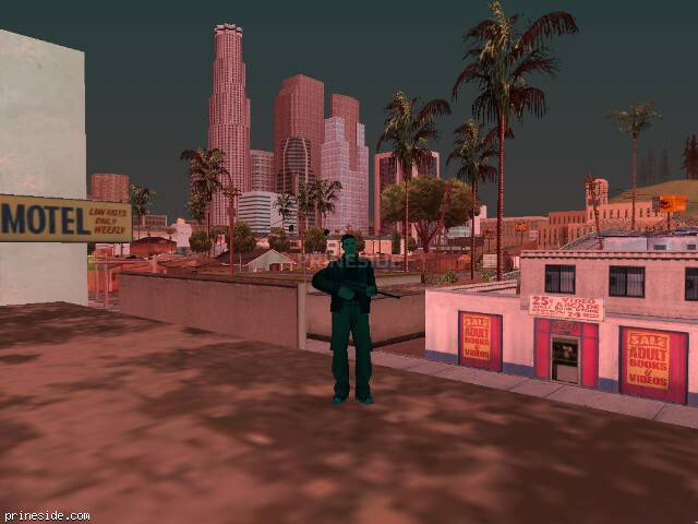 GTA San Andreas weather ID 249 at 19 hours